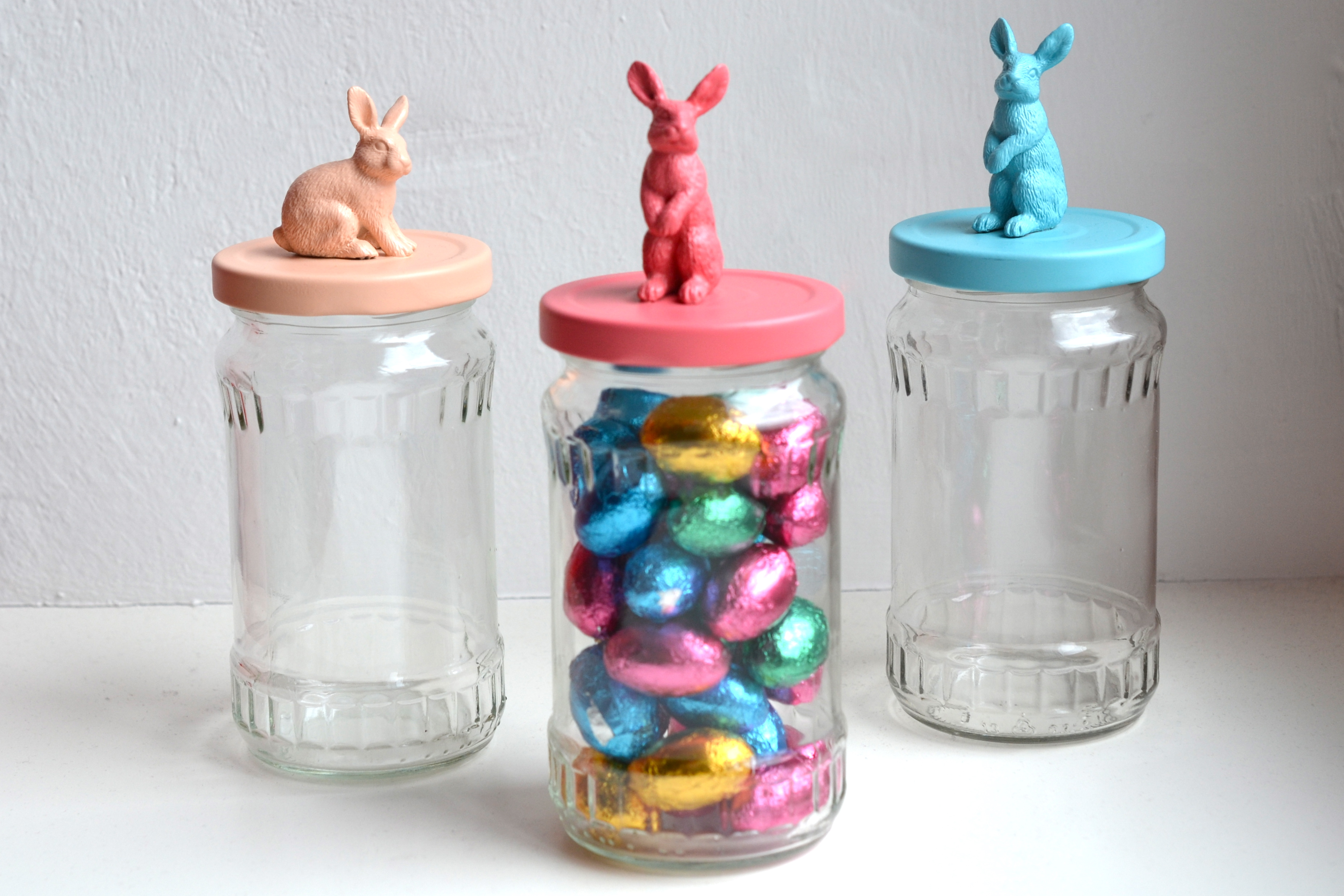 diy easter bunny jars silk soda