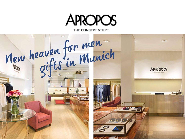 APROPOS – The Concept Store, Munich | silk & soda