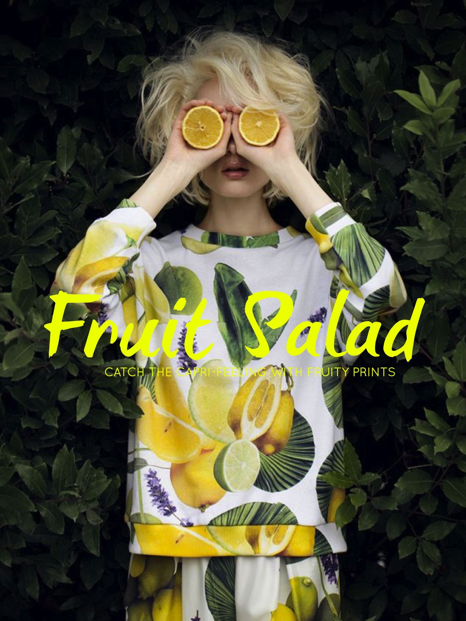 Seems To Be The Fashion Designersu0027 Answer To The Quote. Although Summer Is  Almost Over The Fruity Prints Seem To Stay. While Prada Has Been U0027going  Bananasu0027 ...