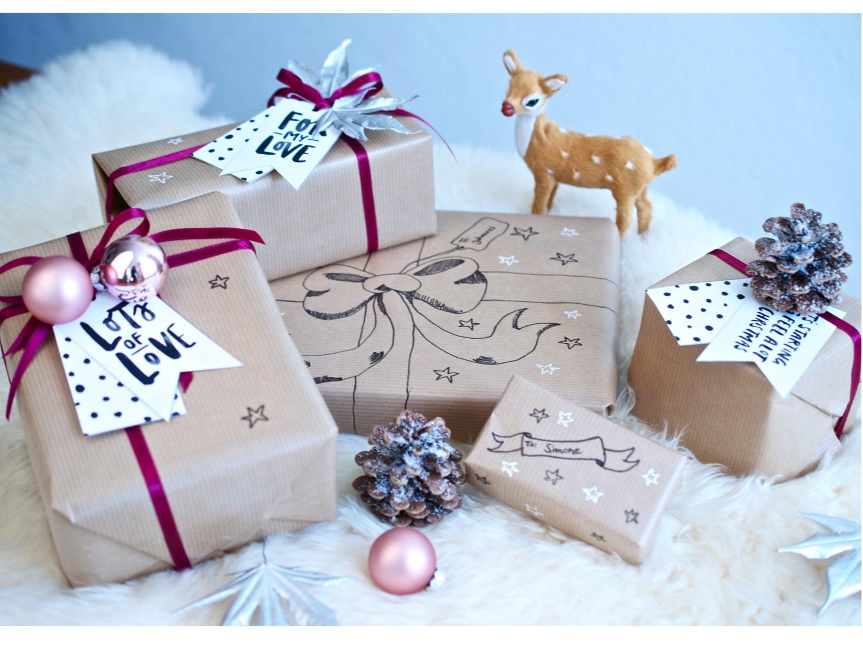 Easy Gift Wrapping Ideas | silk & soda