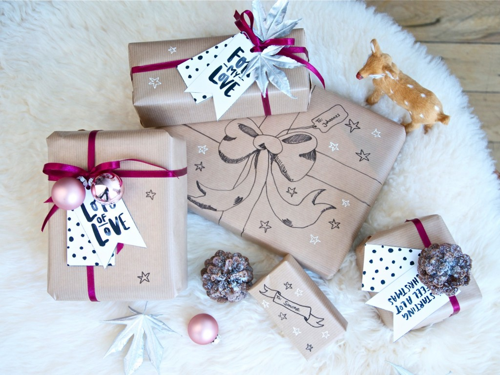 easy christmas gift wrapping2